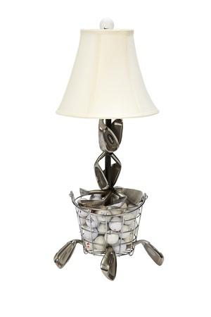 Range Ball Basket Golf Table Lamp