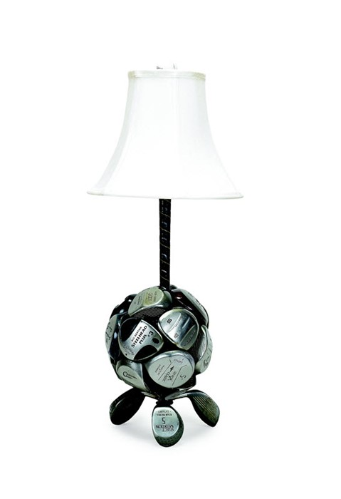 Irons Golf Club Table Lamp Candlestick Shaft